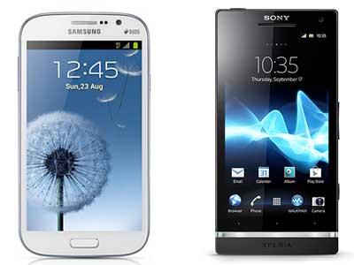 Samsung Galaxy Grand Vs Sony Xperia SL