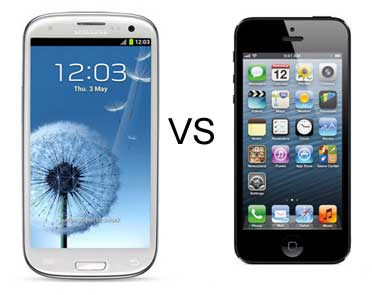Samsung Galaxy Grand vs Iphone 5