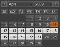 Selected date plus 15 days