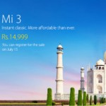 Xiaomi MI3 India launched for Rs.14999 | 2GB RAM | Quad Core