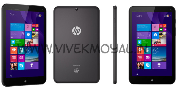 HP Stream 8 Tablet Specification