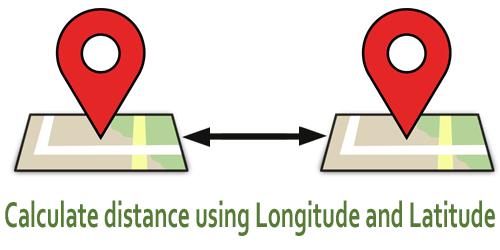 calculate-distance-using-longitude-latitude-php