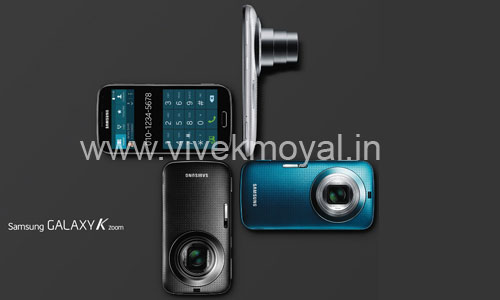 Samsung Galaxy K Zoom with 20.7 MP Camera Launched