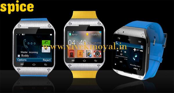 Spice Smart Pulse M9010 – A Revolutionary Smartwatch