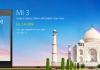 xiaomi mi3 india price