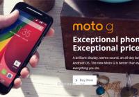 Moto G 2nd Generation