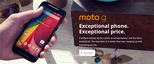 Moto G 2nd Generation Exceptional phone Review
