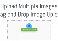 drag and drop multiple image upload