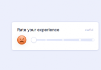 Animated Rating Slider